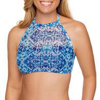 Sol Collective Women's Ikat Halter Swimsuit Top