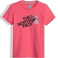 The North Face Girls' Graphic Short-Sleeve T-Shirt