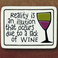 "Spooner Creek ""Reality Is Illusion"" Magnet"