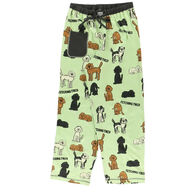 Lazy One Women's Dog Fetching Tired Regular Fit PJ Pant