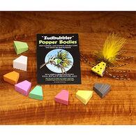 Hareline Zudbubbler Popper Bodies Fly Tying Material - 6 Pk.