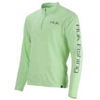Huk Men's ICON X 1/4-Zip Long-Sleeve Shirt