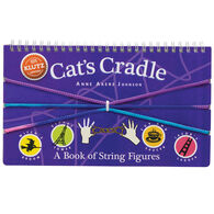 Klutz Cat's Cradle: A Book of String Figures Craft Kit by Anne Akers Johnson