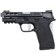 "Smith & Wesson Performance Center M&P380 Shield EZ M2.0 Silver Ported Barrel 380 Auto 3.8"" 8-Round Pistol"