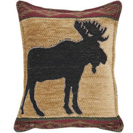 """Paine Products 6"""" x 7"""" Moose Tapestry Balsam Pillow"""