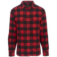 Woolrich Men's Oxbow Bend Plaid Flannel Long-Sleeve Shirt