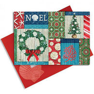Cape Shore Christmas Collage Embellished Boxed Christmas Cards