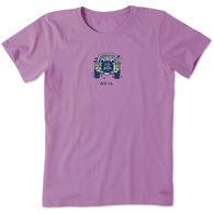 Life is Good Women's All in ATV Vintage Crusher Short-Sleeve T-Shirt