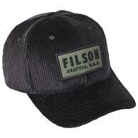 Filson Men's Cord Logger Hat