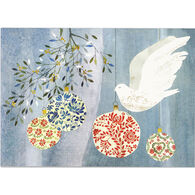 Peter Pauper Press Festive Dove w/Keepsake Box Deluxe Holiday Cards