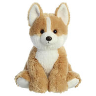 "Aurora Corgi 14"" Plush Stuffed Animal"