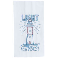 Kay Dee Designs Light the Way Embroidered Flour Sack Towel