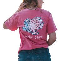 Shelly Cove Men's & Women's Gemstone Lotus Short-Sleeve T-Shirt
