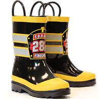 Western Chief Boys' & Girls' FD USA Fire Chief Rainboot