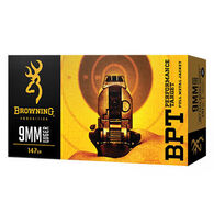Browning BPT Performance Target 9mm Luger 147 Grain FMJ Handgun Ammo (50)