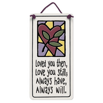 """Spooner Creek """"Loved You Then"""" Mini Charmers Tile"""