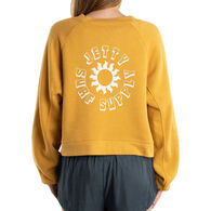 Jetty Life Women's Helio Crew Neck Long-Sleeve Pullover