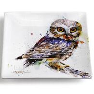 Big Sky Carvers Say Whet Owl Snack Plate