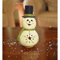 Meadowbrooke Gourds Meadowbrooke Miniature Snowman Gourd