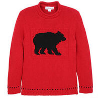 Parkhurst Women's Bear Rollneck Pullover Sweater