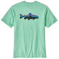 Patagonia Men's Fitz Roy Trout Responsibili-Tee Short-Sleeve T-Shirt