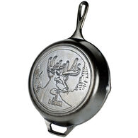 "Lodge Wildlife Series Deer 10.25"" Cast Iron Skillet"