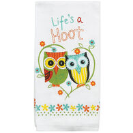 Kay Dee Designs Life's A Hoot Terry Kitchen Towel