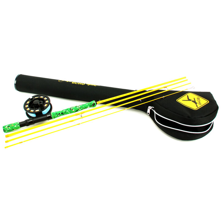 Echo children 39 s gecko fly fishing combo kittery trading post for Fly fishing combos