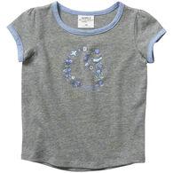 Carhartt Toddler Girl's Ringer Short-Sleeve T-Shirt