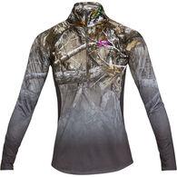 Under Armour Women's UA Tech Faded 1/4-Zip Long-Sleeve Shirt