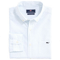 Vineyard Vines Men's Classic Fit Floridian Tucker Button-Down Long-Sleeve Shirt