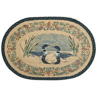 Capitol Earth Braided Oval Loon Face To Face Rug