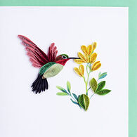Quilling Card Hummingbird Everyday Card