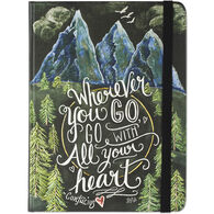 Wherever You Go, Go With All Your Heart Journal by Peter Pauper Press
