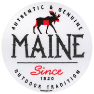 Blue 84 Lack Thereof Moose Maine Sticker