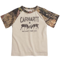 Carhartt Infant/Toddler Boy's Outlast Them All Short-Sleeve T-Shirt