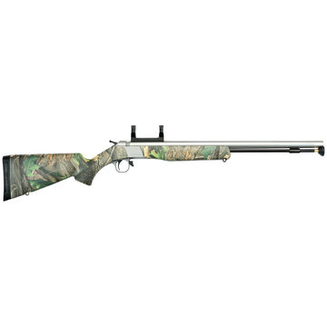 CVA Wolf 50 Cal. Stainless Steel / Realtree Xtra Green Muzzleloader Combo