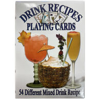 Maine Scene Drink Recipes Playing Cards