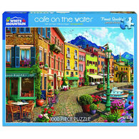 White Mountain Jigsaw Puzzle - Cafe' on the Water