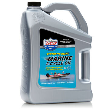 Lucas Synthetic Blend 2-Cycle Marine Oil