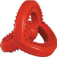 Zanies Hard Rubber Space Station Dental Hygiene Dog Toy