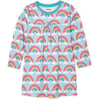 Hatley Girl's Magical Rainbows Long-Sleeve Nightdress