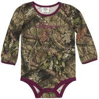 Carhartt Infant Girl's Camo Long-Sleeve Bodyshirt