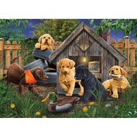 Outset Media Jigsaw Puzzle - In the Doghouse