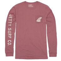 Jetty Life Men's Single Fin Pocket LST Long-Sleeve Shirt