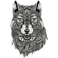 Sticker Cabana Wolf Sticker