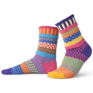 Solmate Socks Womens Sunny Crew Sock