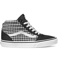 Vans Women's Ward Hi Gingham Canvas Sneaker