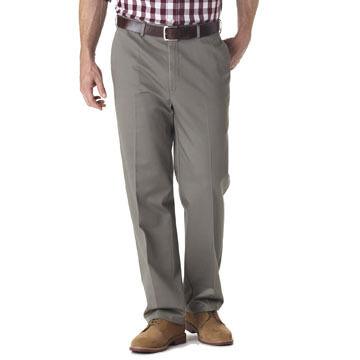 Haggar Mens Work To Weekend Plain-Front Pant