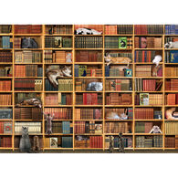 Outset Media Jigsaw Puzzle - The Cat Library